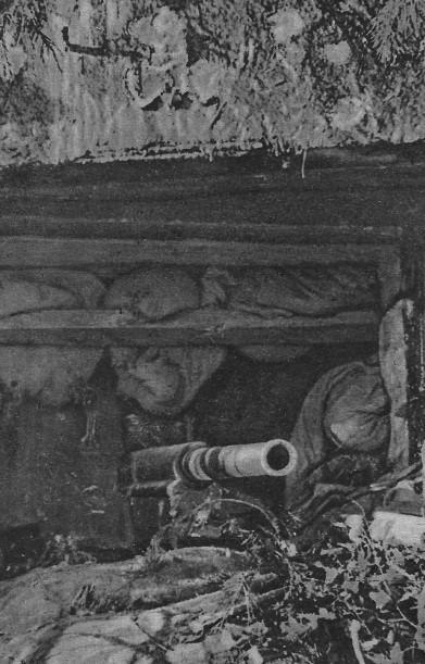 Szturm na bunkier linii Stalina 1